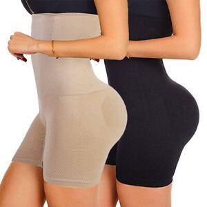 Fajas Colombianas High-Waist Shapewear Tummy Control Body Shaper Panties Girdle