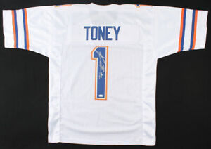 Kadarius Toney Signed Florida Gators Jersey (JSA COA) 2021 1st Rnd Pk NY Giants