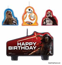 Star Wars CAKE Topper Party CANDLE Woody Birthday Dart Decoration Top Favors x4