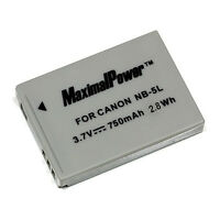 Non-OEM Battery For CANON NB-5L PowerShot ELPH SD880 SD890 SD900 SD950 S100