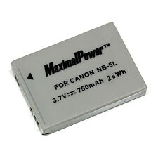Camera Battery For CANON NB-5L PowerShot ELPH SD880 SD890 SD900 SD950 S100