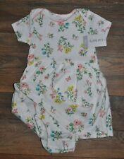 Carter's Bebé Niña Vestido de algodón Layette 2 en 2 9 meses Chaleco vacaciones de verano