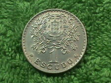 Portugal 1 Escudo 1959 Presque UNC `