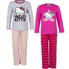 New Pyjama Set nightclothes Girl Hello Kitty Grey Pink 98 104 116 128 #5