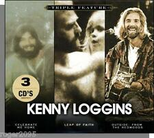 Kenny Loggins - Triple Feature! 3 Great Albums in One 2009 Song 3 CD Set!
