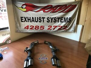 COMMODORE VE - VF 409 s/s DG SPORTS EXHAUST - Suit UTE only