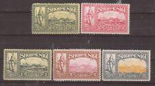 """ALBANIEN. 1914 Soldat und Landschaften.  """"bogus"""" Briefmarken MH"""