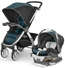 Chicco Bravo Trio 3-in-1 Baby Travel System Stroller w/ KeyFit 30 Lake NEW 2017