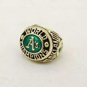 1974 Reggie Jackson Championship Ring Baseball sport team gold US size 10-12