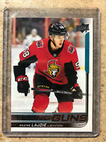 18-19 UD Upper Deck S1 Series 1 YG Young Guns #223 MAXIME LAJOIE RC
