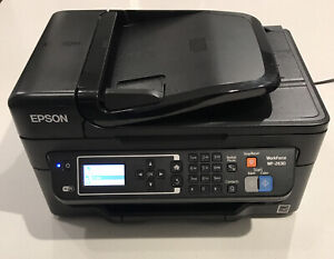 Epson WorkForce WF2630 Wireless All-in-One Color Printer Copy Scan Fax Needs Ink