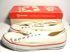 Vintage 1970's Converse Basketball Chuck Taylor All Star Original New Size 11""