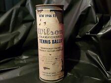 1946 Wilson Championship Tennis Balls