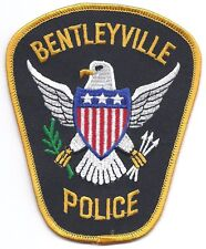 **BENTLEYVILLE OHIO POLICE PATCH**