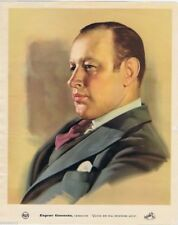 Rca Red Seal Artist Poster, Eugene Goossens, Conductor, 1940's