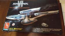 """1991 AMT Ertl Star Trek VI """"U.S.S Enterprise"""" Model Kit, #8617"""