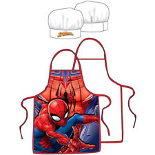 Kinder Küchen Set 2tlg.* Spiderman* Kochschürze + Kochmütze  NEU