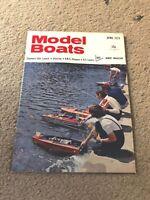 APRIL 1974 MODEL BOATS boat model magazine