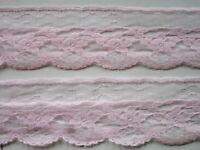 Rosa Spitze Nichtelastisch Bote 4.5cm breit Rosa Elegante