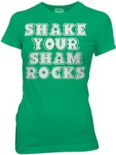 St Patrick's Day Irish Shake Your Shamrocks Womans Fitted T Shirt