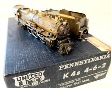 Brass PRR K4s 4-6-2 PFM United steam engine tender PROJECT Pennsylvania Pennsy