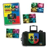 Pop Cam Andy Warhol Art 4 Lens 35mm Film Camera Kit Lomography