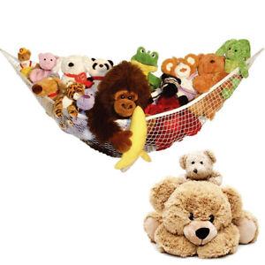 UK Large Soft Toy Hammock Mesh Net Teddy Bear Hanging Storage Baby Toy Organizer