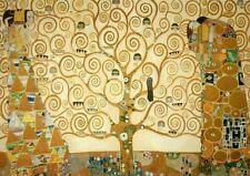 Gustav Klimt The Tree of Life Poster Fine Art Re-Print A4
