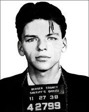 Frank Sinatra Photo 8X10 Mug Shot Arrested For Seduction 1938 New Jersey
