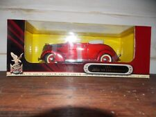 Die Cast Metal Collection 1937 Ford V8 Convertible Deluxe Edition Car