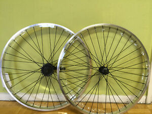 """Beach Cruiser Bicycle 26/""""x 32mm Rear /& Front wheels Coaster Brake Anodized Gold"""