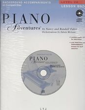 Piano Adventures Background Accompaniments CD Lesson Level 2A