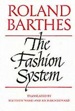 The Fashion System, Very Good Condition Book, Barthes, ISBN 9780520071773