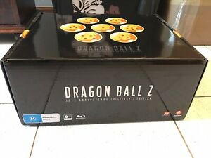DRAGON BALL Z 30TH ANNIVERSARY BLU RAY LIMITED EDITION COLLECTION BOX SET NEW