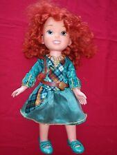 Disney Princess Brave 14 inch Toddler Merida Doll Forest Adventure