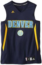 (Mens LARGE) Adidas NBA Denver Nuggets Tank Top Team Jersey