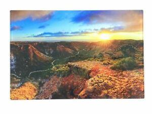 Landscape Sunset Photo Print on Acrylic AU Sellers 30cm x 20cm Great Gift Idea