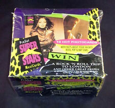 1991 Pro Set Music Superstars Series 1 Trading Card Box 36 Packs