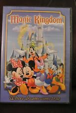 Walt Disney's MAGIC KINGDOM Where Dreams Come True DVD Souvenir Movie Park
