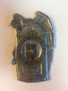 Automovil Club de Chile 3975 Car Badge