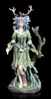 Wicca Dea Figura - Guardiano Of Trees - veronese Strega Elfo Statua Scultura