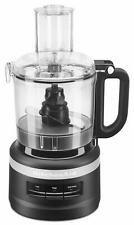 KitchenAid RKFP0718BM Food Processor, 7 Cup Black Matte Certified Refurbished