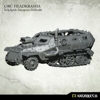 Kromlech Orc Headkrasha Iron Reich Transporta Halftrakk Brand New KRVB052