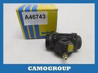 Cylinder Rear Brake Rear Wheel Brake Cylinder Metelli PEUGEOT 406