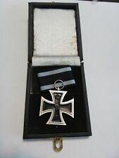 WWI WW1 German 1914 Iron cross Medal award w LDO presentation box case