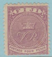 Fiji 42 Mint Hinged OG*  - NO FAULTS VERY FINE !