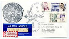 1989 Coats Blaha Bagian Springer Buchli Kennedy Center Space Air Mail USA