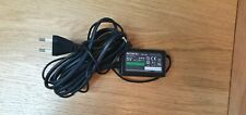 Sony PSP-104 adapter . With 2 pin round power lead EU