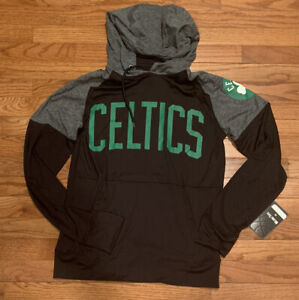 Men's Boston Celtics Fanatics Branded Raglan Pullover Hoodie NWT Small