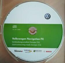 VOLKSWAGEN NAVIGATION FX HAUPTSTR. EUROPA 2012 V4 RNS310 GOLF PASSAT POLO TOURAN